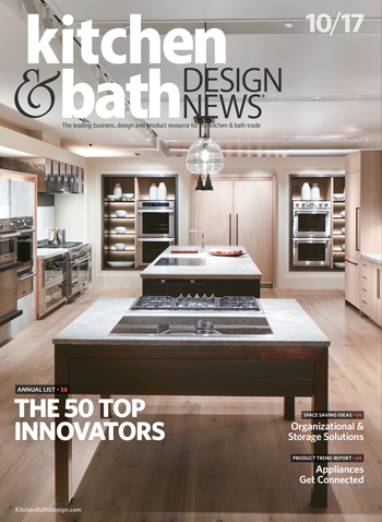 Kitchen and Bath Design News article Top 50 Innovators